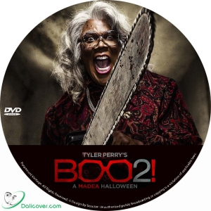 Boo 2! A Madea Halloween (2017) Label - Dalicover